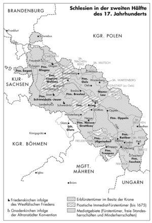 Schlesien 1675