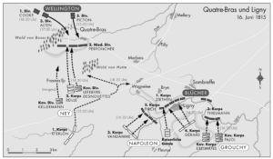 Quatre-Bras und Ligny 1815