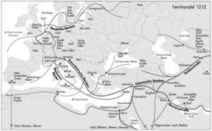 Handel in Europa und Asien 1212
