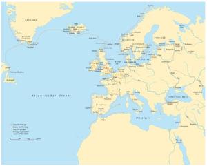 Wikinger in Europa