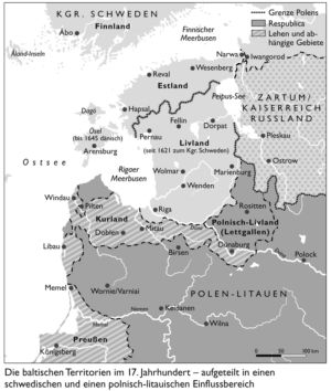 Baltikum 1645