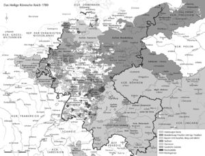 Mitteleuropa 1789
