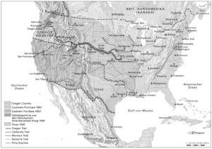 USA 1803 bis 1853