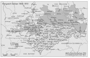 Sachsen 1806 bis 1815