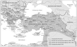 Osmanisches Reich 1878 bis 1915
