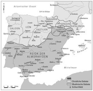 Iberische Halbinsel 1095