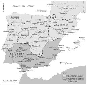 Iberische Halbinsel 1212