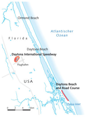 Daytona Beach Autorennen