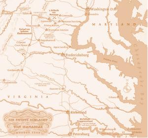 Schlacht von Manassas 1862