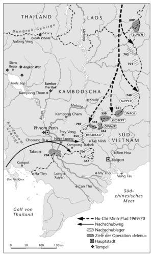 Kambodscha und Vietnam