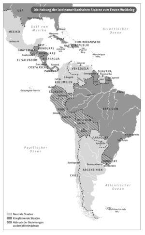 Lateinamerika 1914