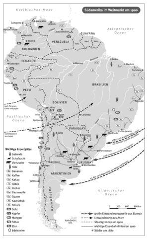 Südamerika 1900