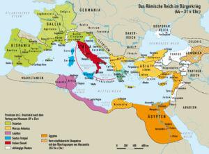 Römisches Reich 44 bis 31 v.Chr.