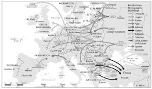 Flucht nach dem Ersten Weltkrieg