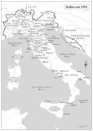 Italien 1494