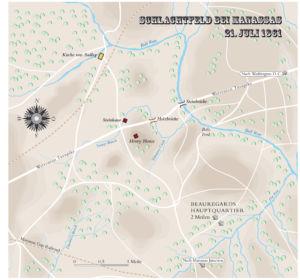 Schlacht bei Manassas 1861