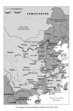 China 1937 bis 1945