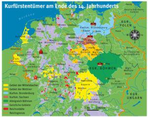 Heiliges Römisches Reich 14. Jahrhundert