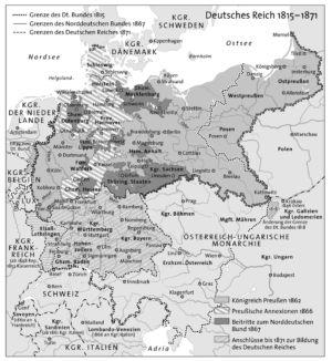 Deutsches Reich 1815 bis 1871