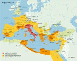 Römisches Reich zur Zeit Jesu