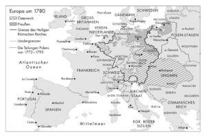 Europa 1780