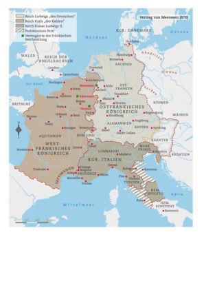 Vertrag von Meerssen 870