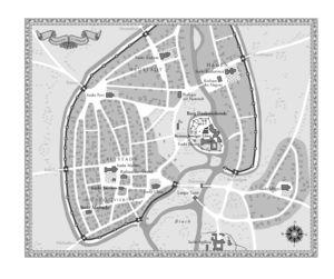 Braunschweig in 12. Jahrhundert