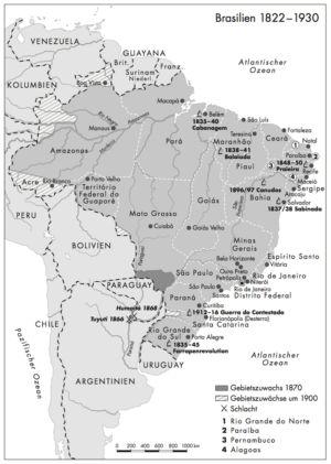 Brasilien 1822 bis 1930