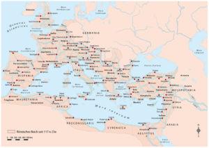Straßen im Römischen Reich