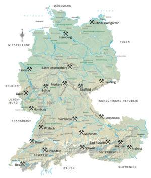 Deutschland Schweiz Österreich Mineralien