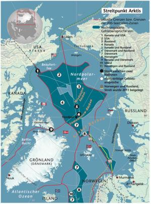 Streit um die Arktis