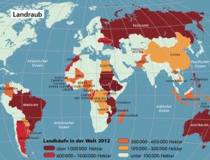 Landraub in der Welt