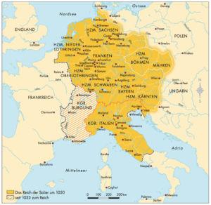 Reich der Salier 1050