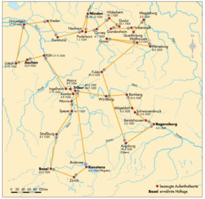 Heiliges Römisches Reich 1025 Salier
