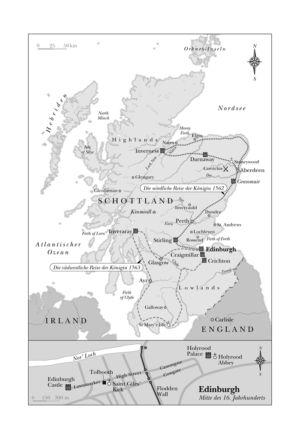Schottland und Edinburgh 1562