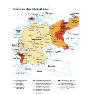 Deutschlands Gebietsverluste