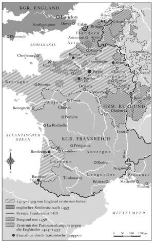 Frankreich 1415 bis 1453