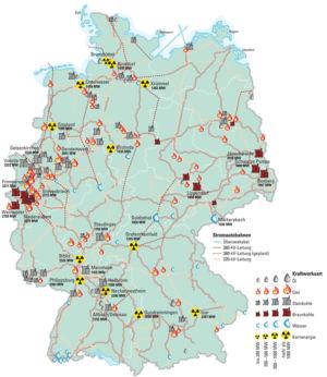 Energiewirtschaft in Deutschland 2009