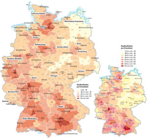 Kaufkraft in Deutschland 2009