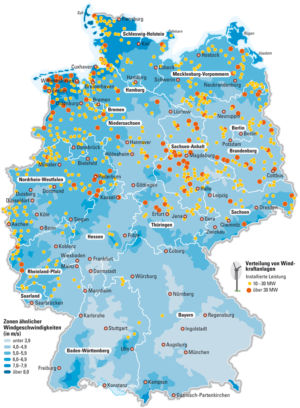 Wind in Deutschland