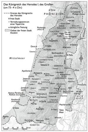 Palästina zur Zeit Herodes