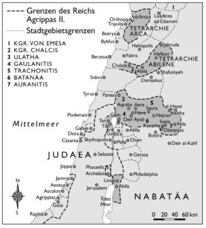 Judaea und Nabatäa