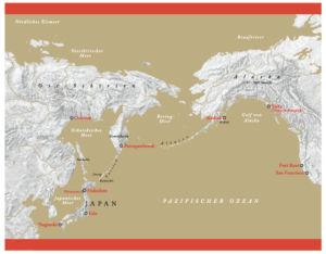 Sibirien und Alaska