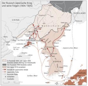 Russisch-Japanischer Krieg 1904 und 1905