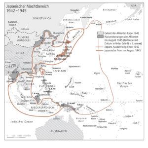 Pazifik 1942 bis 1945
