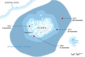 Iceland and the seamiles