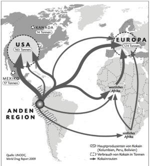 Drogen in den USA und Europa