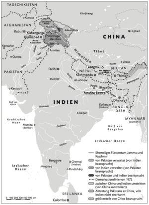 Indien und China