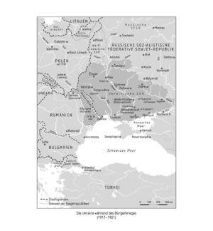 Südrussland 1917 bis 1921