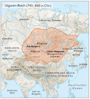 Uiguren Reich 745 bis 840